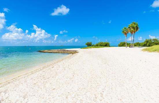 Sombrero Beach in the Florida Keys, Marathon