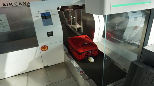 Touch-free Bag Service for Air Canada