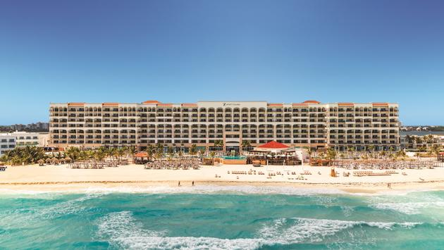 Aerial view of Hyatt Zilara Cancun