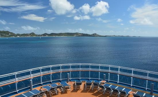 View from a cruise ship.