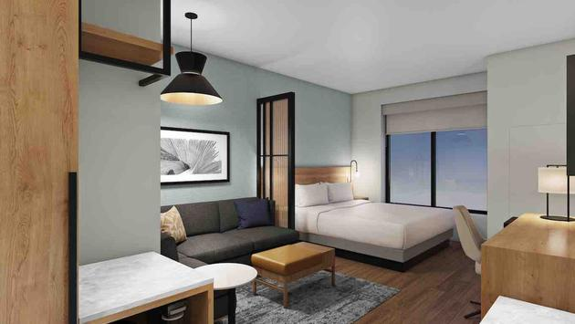 The Newly Redesigned Hyatt Place Hotel