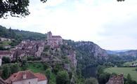 Saint-Cirq-Lapopie in Southwest France