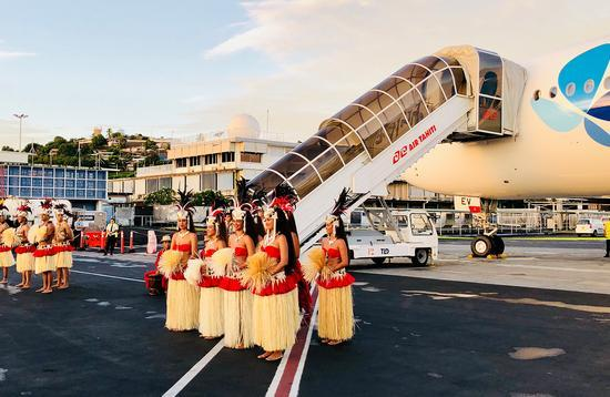 French Bee lands in Tahiti