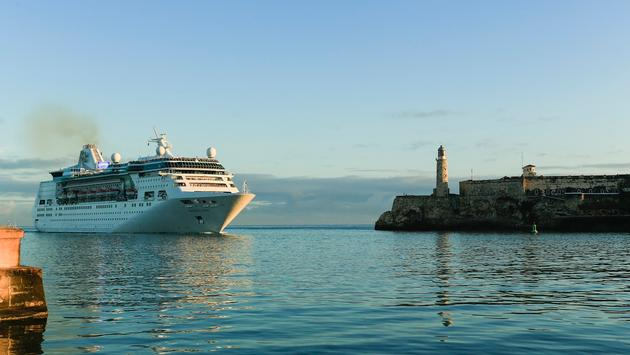 Royal Caribbean's Empress of the Seas