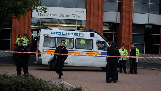 Heathrow Airport police