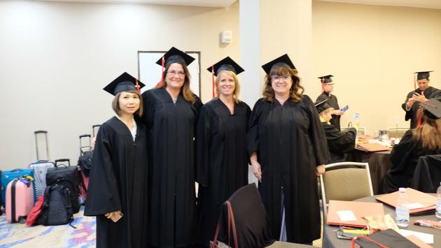 Graduates of Air Canada's Ambassador Program