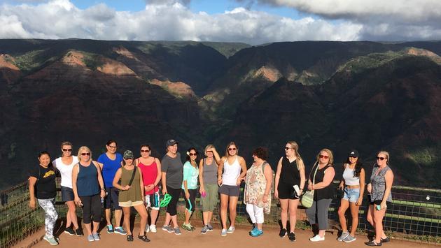 Groupe de conseillers en Hawaii avec TravelBrands