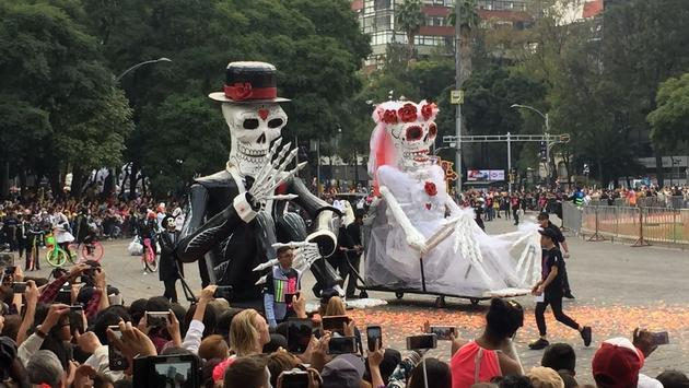 Day of the Dead Festival in Mexico City