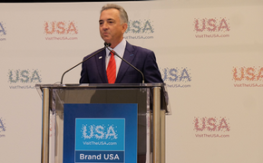 Brand USA President and CEO Chris Thompson