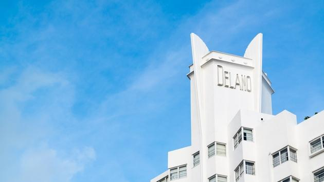 The Art Deco Delano South Beach on Collins Avenue in Miami Beach is an iconic sbe property.