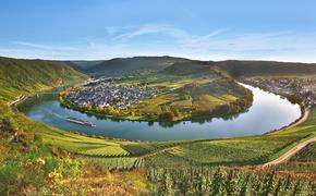 Cruising the Moselle River in Germany