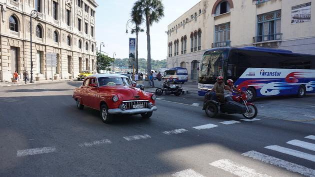 In downtown Havana Cuba