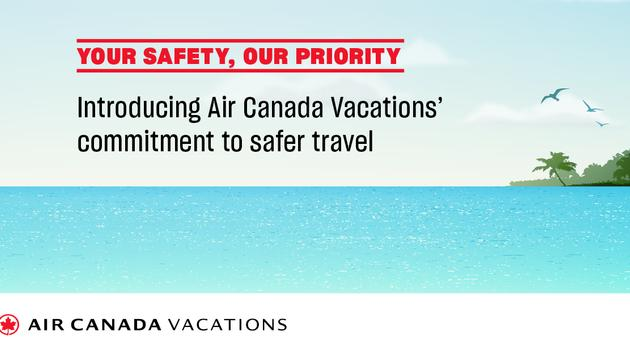 Air Canada Vacations Health and Safety