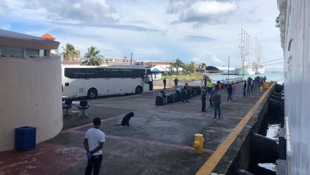 Repatriating crew members in Panama
