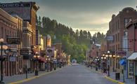 Downtown Deadwood, South Dakota