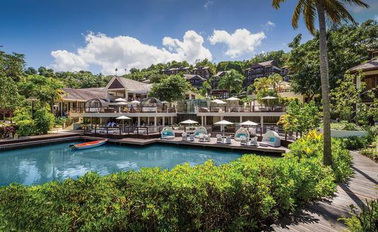 Marigot Bay Resort & Marina, St. Lucia