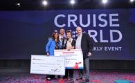 "Becky Smith, winner of Carnival Cruise Line's ""Most Trusted Travel Advisor"" contest"