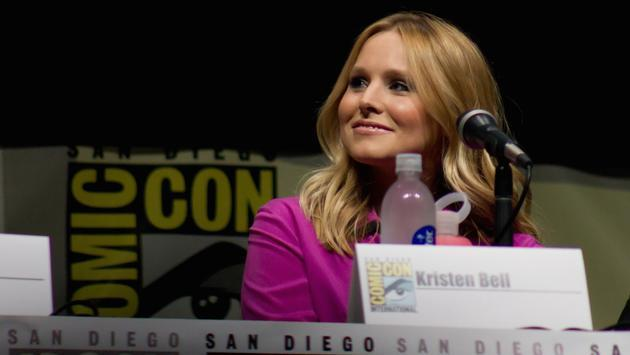 Kristen Bell at San Diego Comic-Con