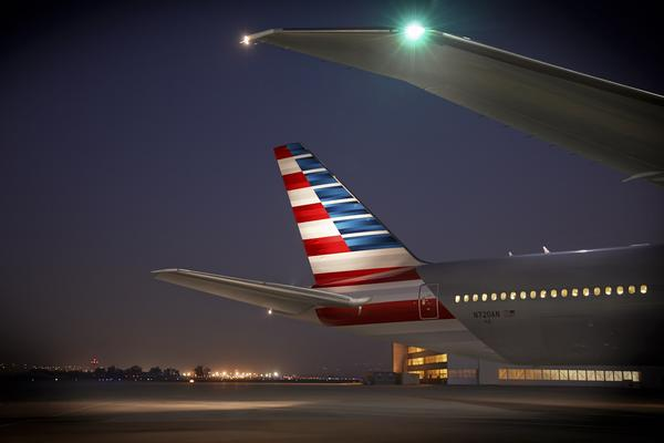 American Airlines Adding Service for CES 2020