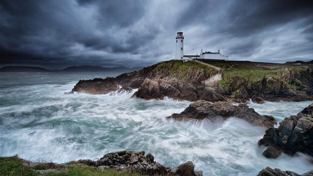 Fanad Head Lighthouse, Letterkenny, Ireland