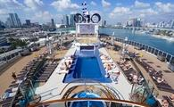 The Miami Beach Pool and Sun Deck on MSC Cruises