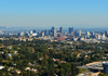 View of downtown LA.