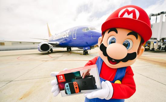 Southwest, Airlines, Nintendo