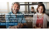 BEYOND ORDINARY SAVINGS EVENT