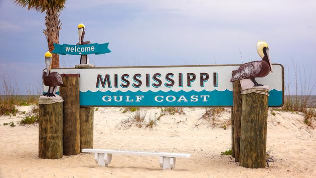 Mississippi, Gulf Coast, travel