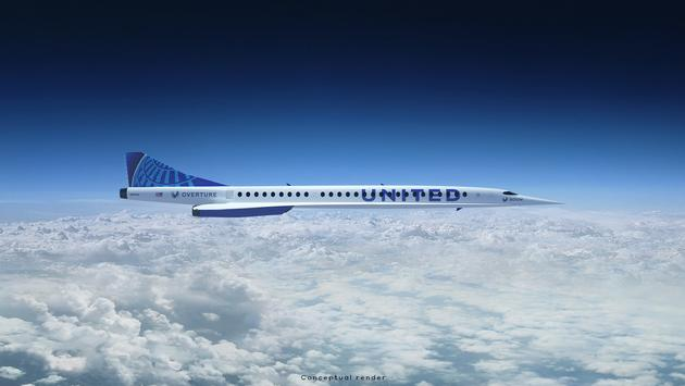 United Airlines announced a new partnership with Boom Supersonic.