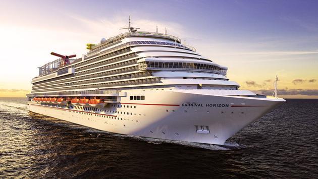 Rendering of Carnival Cruise Line's Carnival Horizon