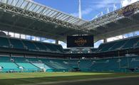 Hard Rock Stadium in Miami Gardens, Florida