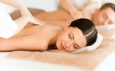 Top off a romantic getaway with a relaxing massage for two.
