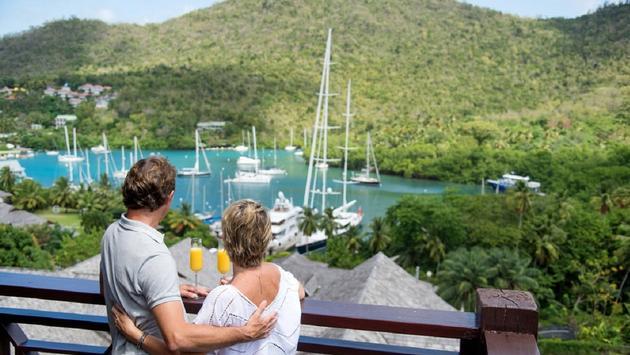 Marina View at Marigot Bay Resort and Marina