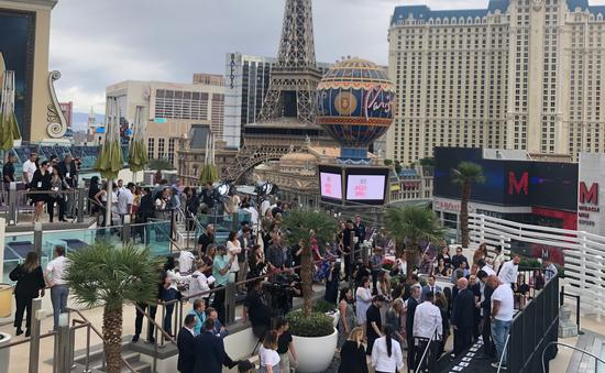 Conférence de presse Vegas Uncork'd 2019