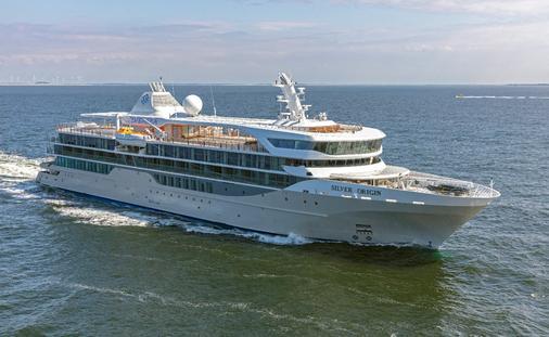 Ship built for the Galapagos