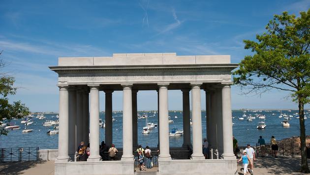 Plymouth Rock, Massachusetts