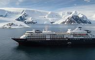 Silversea Expeditions' Silver Cloud in Antarctica