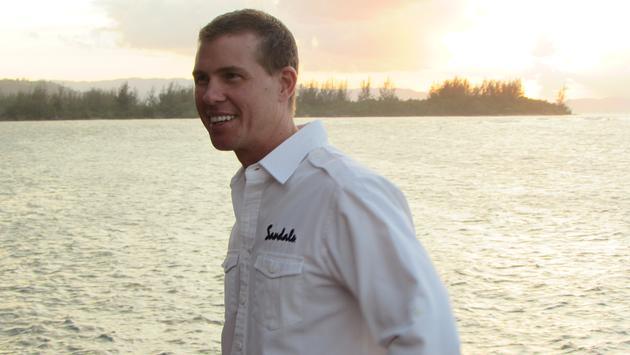 Adam Stewart CEO of Island Routes