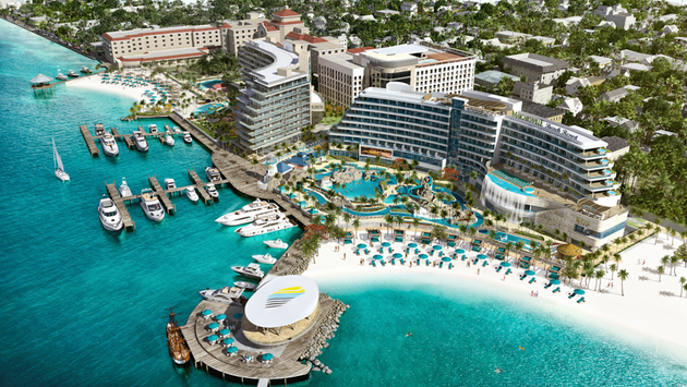 Margaritaville at The Pointe rendering