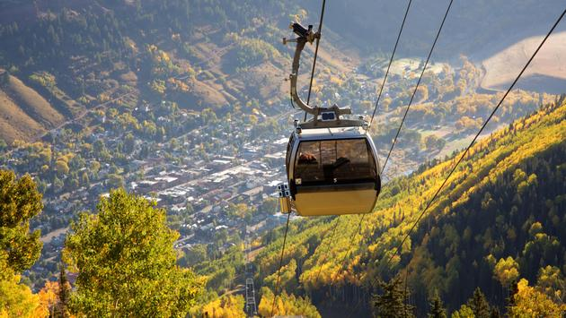 A view from a Telluride Gondola