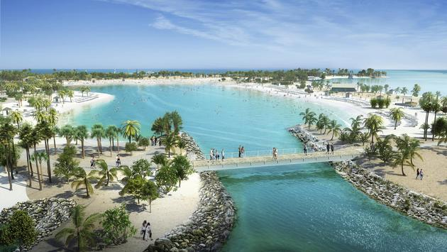 Rendering of Ocean Cay MSC Marine Reserve, MSC Cruises