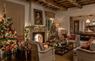 Decorated Villa at Rosewood Castiglion del Bosco, Tuscany, Italy.