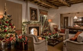 Decorated Villa at Rosewood Castiglion del Bosco, Tuscany, Italy.