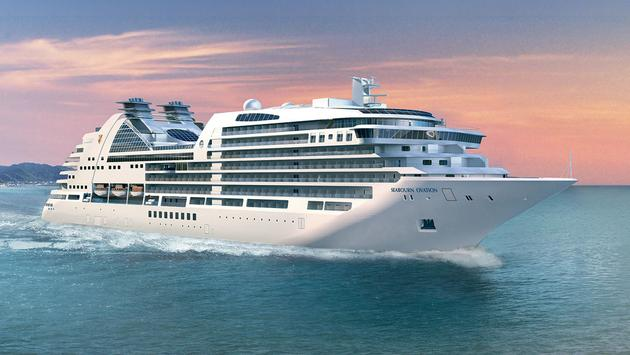 Rendering of Seabourn Ovation