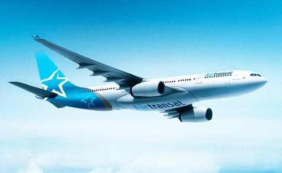 Air Transat's new livery still features the company's stylized star design, but lightens the tail colour and adds a touch of grey, a colour prominent in the airline's first livery back in 1987.