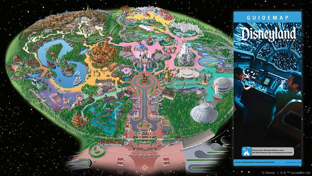 Disney Releases Guidemap For Star Wars Galaxy S Edge At Disneyland Park