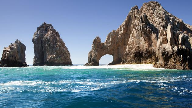 The famous natural arch in Cabo San Lucas, Mexico