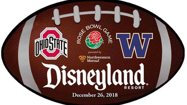 Disneyland, Rose Bowl, travel