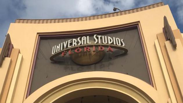 Entry arches to Universal Studios Florida